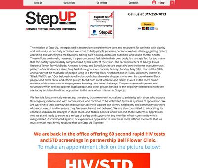 STD Testing at Step Up Incorporated
