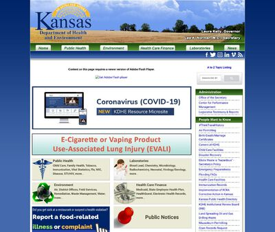 STD Testing at Kansas Department of Health