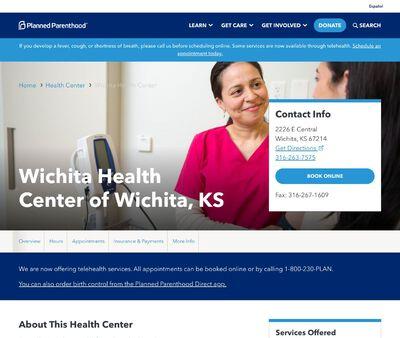 STD Testing at Wichita Health Center of Wichita, KS