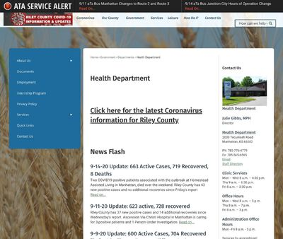 STD Testing at Riley County Health Department