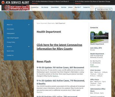 STD Testing at Riley County – Manhattan Health Department