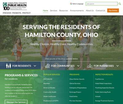 STD Testing at Hamilton County Public Health