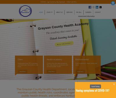 STD Testing at Grayson County Health Center