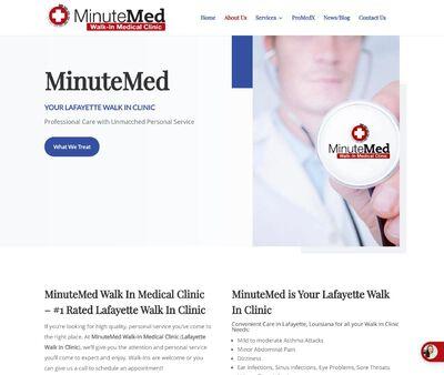 STD Testing at MinuteMed Walk In Clinics