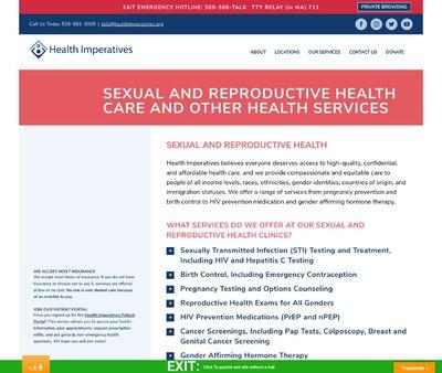 STD Testing at Brockton Family Planning