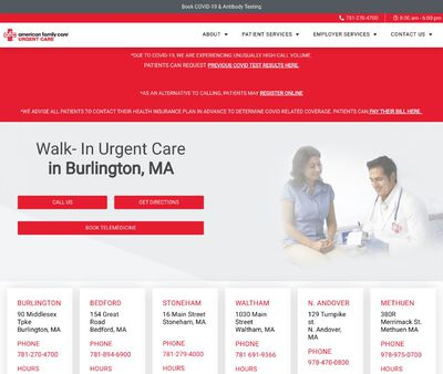 STD Testing at AFC Urgent Care Burlington