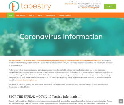 STD Testing at Tapestry Health (Holyoke Office)