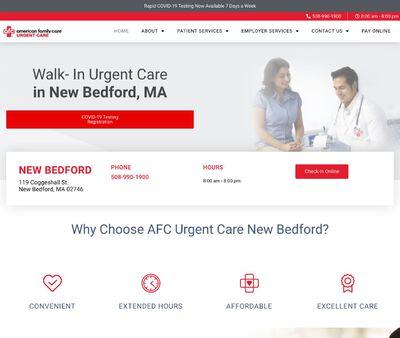 STD Testing at AFC Urgent Care New Bedford