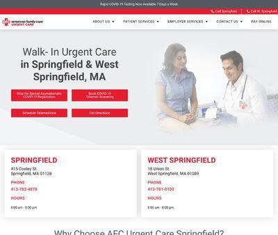 STD Testing at AFC Urgent Care Springfield