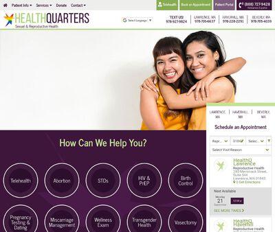 STD Testing at Health Quarters (Haverhill Health Center)