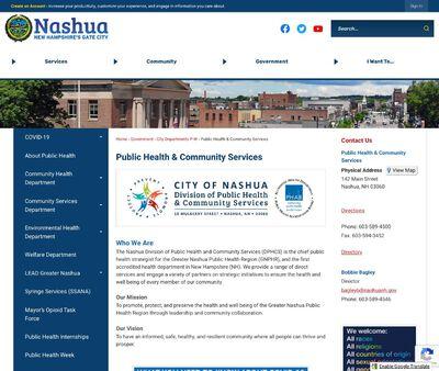 STD Testing at Nashua Community Health Department