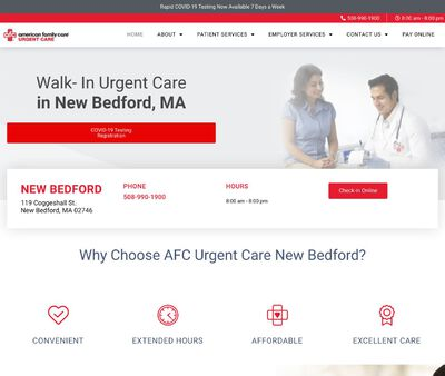 STD Testing at AFC Urgent Care New Bedford