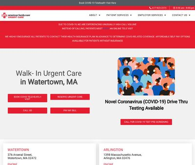 STD Testing at AFC Urgent Care Watertown
