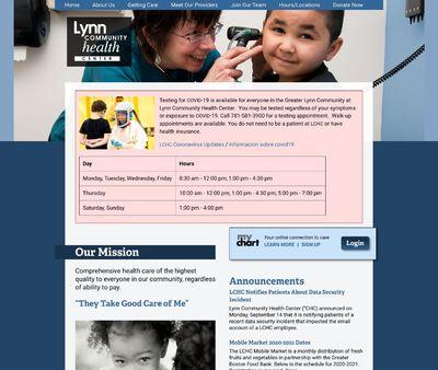 STD Testing at Lynn Community Health Center