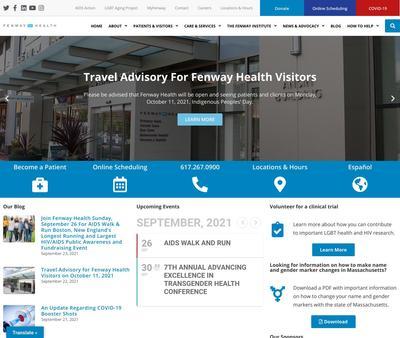 STD Testing at Fenway Health - Ansin Building