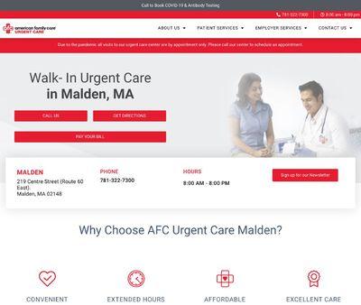 STD Testing at AFC Urgent Care-Malden