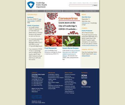 STD Testing at Cambridge Public Health Department