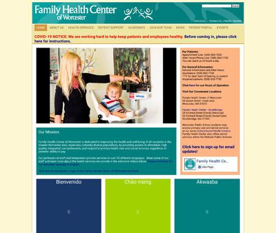 STD Testing at Family Health Center of Worcester, Inc.