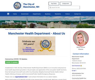 STD Testing at Manchester Health Department