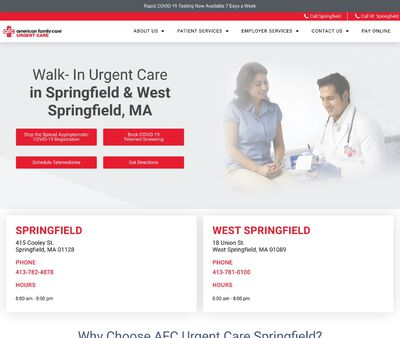 STD Testing at AFC Urgent Care