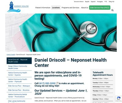 STD Testing at Neponset Health Centre