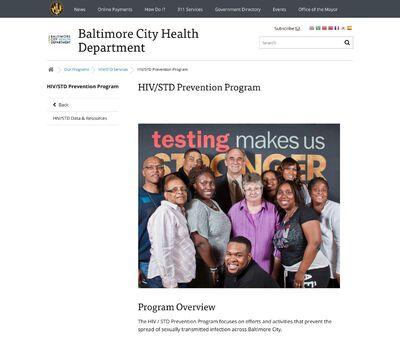 STD Testing at Bureau of HIV/STD Services