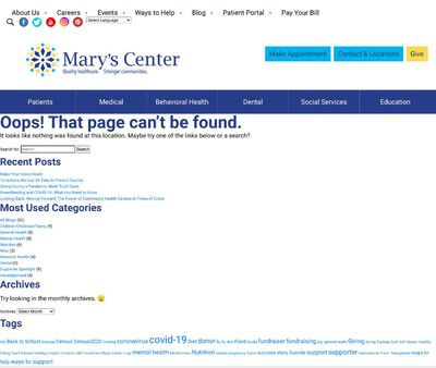 STD Testing at Mary'sCenter