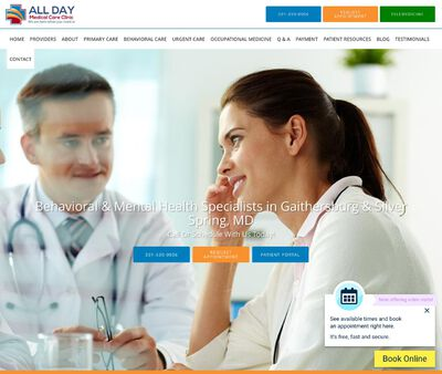 STD Testing at All Day Medical Care Clinic