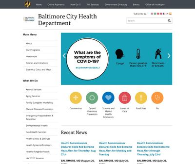 STD Testing at Baltimore Eastern Std Clinic