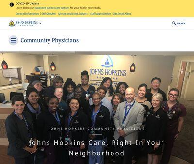 STD Testing at Johns Hopkins Community Physicians