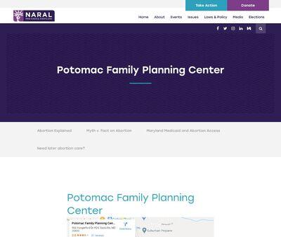 STD Testing at Potomac Family Planning Center
