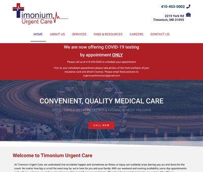STD Testing at Timonium Urgent Care