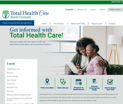 STD Testing at Total Health Care Incorporated- Odenton Health Center
