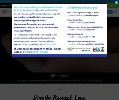 STD Testing at Whitman-Walker Health - Max Robinson Center