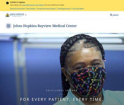 STD Testing at Johns Hopkins Bayview Medical Center
