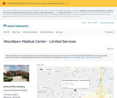 STD Testing at Woodlawn Medical Center
