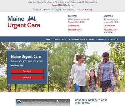 STD Testing at Maine Urgent Care