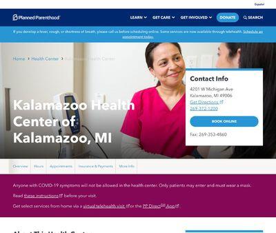 STD Testing at Kalamazoo Health Center of Kalamazoo, MI