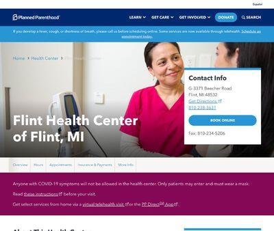 STD Testing at Planned Parenthood - Flint Health Center