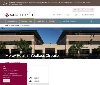 STD Testing at Mercy Health Infectious Disease