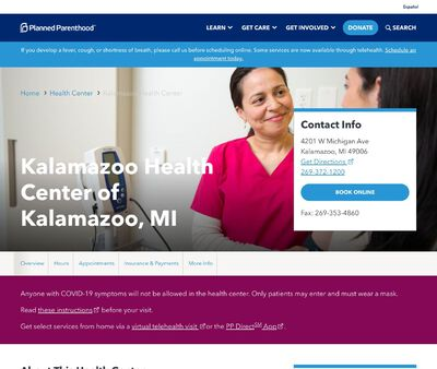 STD Testing at Planned Parenthood - Kalamazoo Health Center
