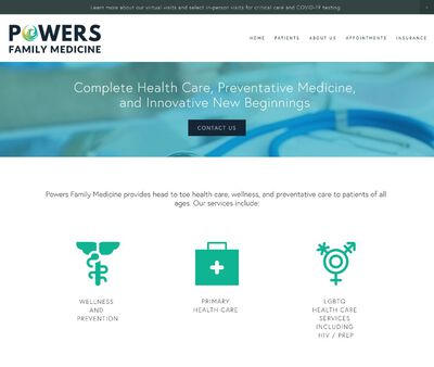 STD Testing at Powers Family Medicine - Dr. William J Powers DO