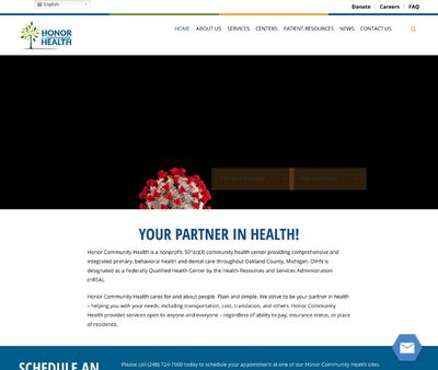 STD Testing at Honor Community Health