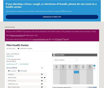 STD Testing at Planned Parenthood of Michigan, Saginaw Health Center
