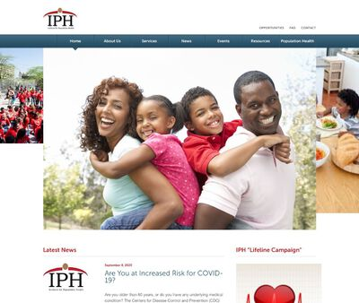 STD Testing at Institute for Population Health (IPH North End Center)