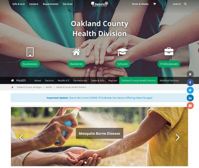 STD Testing at Oakland County Health Division (South Oakland Health Center)