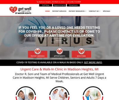 STD Testing at Get Well Urgent Care of Madison Heights