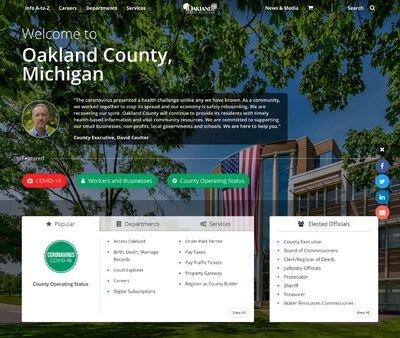 STD Testing at Oakland County Health Division: South Oakland Health Center - Southfield Office
