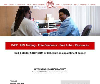 STD Testing at Matrix MAC Health