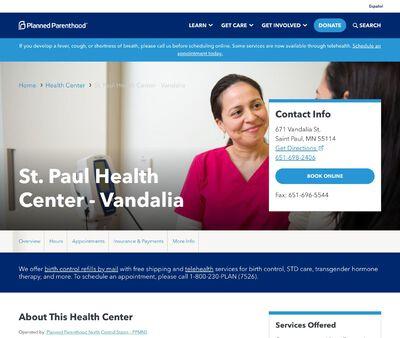STD Testing at Planned Parenthood - St. Paul Health Center - Vandalia